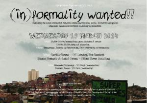 symposium informality wanted -19 03 2014 - save the date
